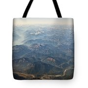 Between Vancouver And Kelowna Bc Canada Tote Bag