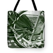 Bevy Of Beach Bikes Tote Bag
