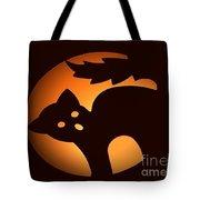 Beware Of Black Cats Tote Bag
