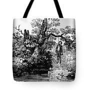 Bewick: Hanged Man Tote Bag