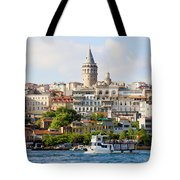Beyoglu District In Istanbul Tote Bag by Artur Bogacki