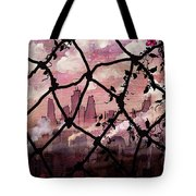Beyond The Chain Link Tote Bag