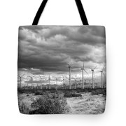 Beyond The Clouds Bw Tote Bag