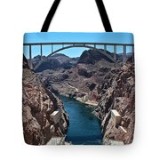 Beyond The Hoover Dam Spillway Tote Bag