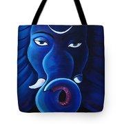 Bhalchandra-moon Crested Lord Ganesha Tote Bag