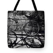 Bicycle Shadow 1 Tote Bag