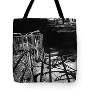Bicycle Shadow 2 Tote Bag