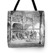 Bicycle Tournament, 1869 Tote Bag