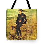 Bicycles And Tricycles Tote Bag