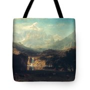 Bierstadt: Rockies Tote Bag by Granger
