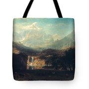 Bierstadt: Rockies Tote Bag