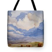 Big Alberta Sky Tote Bag