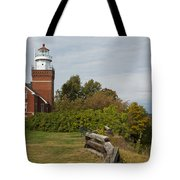 Big Bay Point Lighthouse 1 Tote Bag
