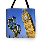 Big Ben And Palace Of Westminster Tote Bag