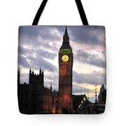 Big Ben Sunset Tote Bag