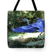 Big Blue In Flight Tote Bag