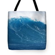 Big Blue Wave Tote Bag