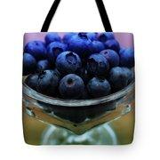 Big Bowl Of Blueberries Tote Bag