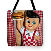 Big Boy Tote Bag by Kristin Elmquist