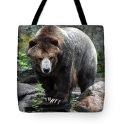 Big Brown Bear Tote Bag