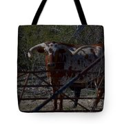Big Bull Long Horn Tote Bag