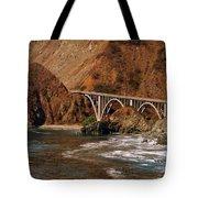 Big Creek Bridge Close Tote Bag