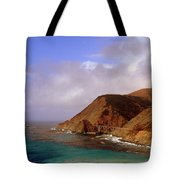 Big Creek Bridge Tote Bag by Jeff Lowe