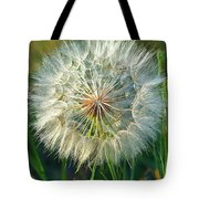 Big Dandelion Seed Tote Bag