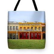 Big Four Building Sacramento California Tote Bag by Christine Till