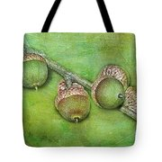 Big Oaks From Little Acorns Grow Tote Bag by Judi Bagwell