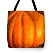 Big Orange Pumpkin Tote Bag