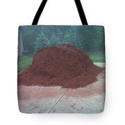 Big Pile Of Mulch Time Tote Bag