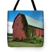 Big Red Barn On Rt 227 Tote Bag