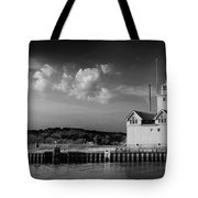 Big Red Lighthouse In Holland Michigan Tote Bag