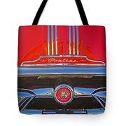 Big Red Pontiac Tote Bag
