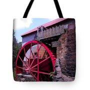 Big Red Wheel Tote Bag