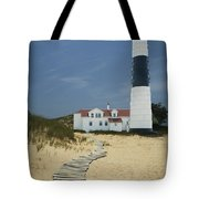 Big Sable Lighthouse In Ludington Michigan Number 3 Tote Bag