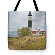 Big Sable Lighthouse Tote Bag