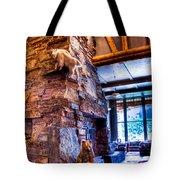 Big Sky Lodge Interior Tote Bag