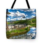 Big Sky Ski Resort II Tote Bag
