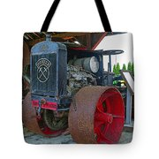 Big Steel Wheel Tractor Tote Bag