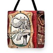 Big Top Elephants Tote Bag