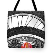 Big Wheels Keep On Turning Tote Bag by Empty Wall
