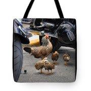 Biker Chix Tote Bag