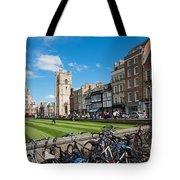 Bikes Cambridge Tote Bag