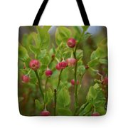 Bilberry Flowers Tote Bag