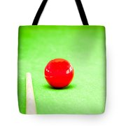 Billiard Table Tote Bag by Tom Gowanlock
