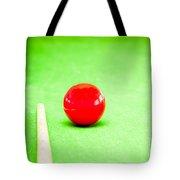 Billiard Table Tote Bag