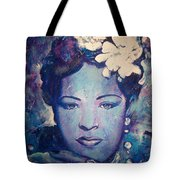 Billie's Eyes Tote Bag