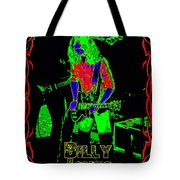 Billy Gets Psychedelic Tote Bag